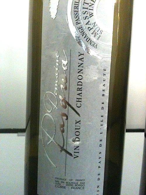 Domaine Pasqua Chardonnay Vin Doux