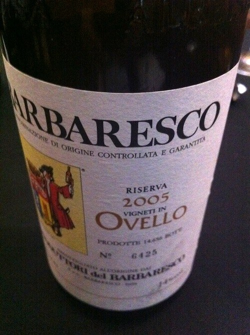 Barbaresco Reserva