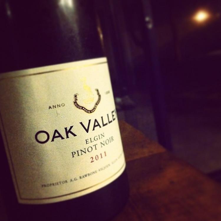 Oak Valley Pinot Noir 2011